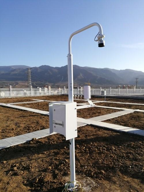 陕西首个智能雪深观测仪建成并投入试运行