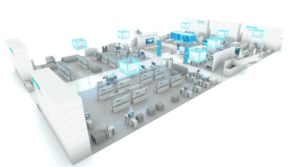 """西门子以未来技术拓展面向""""工业4.0""""的数字化企业解决方案"""