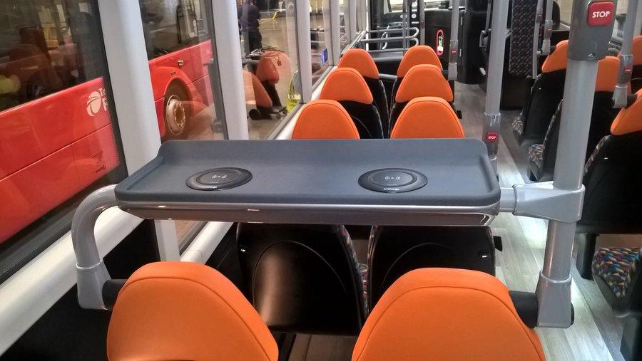 全球首列提供无线充电列车 公交巴士紧随其后