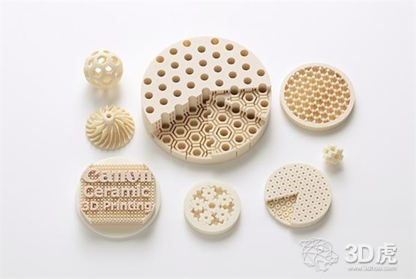 佳能开发出用于高分辨率3D打印的氧化铝基陶瓷材料