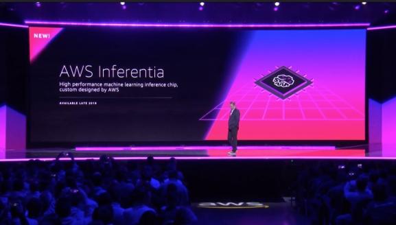 华为之后 亚马逊发布首款云AI芯片!算力惊人 2019年面世