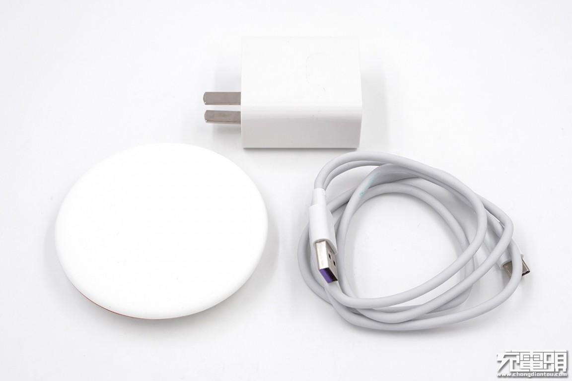 支持华为、苹果、三星无线快充,华为无线充电器(CP60)开箱评测