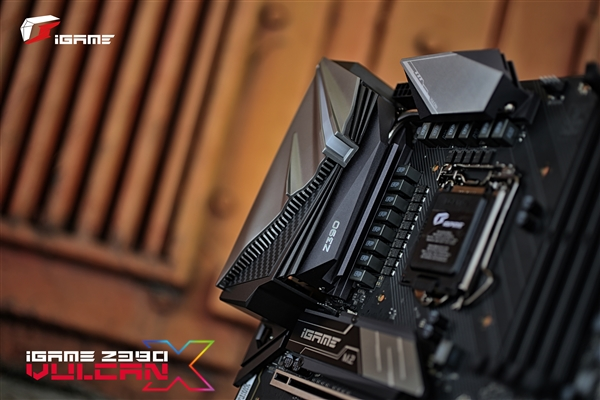重建新秩序!iGame Z390 Vulcan X主板精美图赏