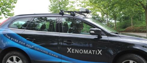 XenomatiX新一代全固态激光雷达推进自动驾驶革命