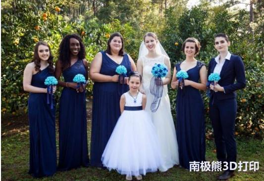 3D打印与婚礼:节省金钱并融入个性