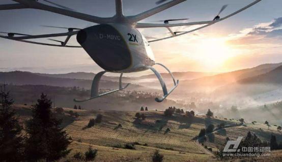 全球首辆飞行出租车迪拜试飞 德国公司最新载人无人机成焦点