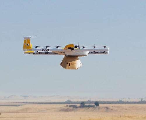 无人机送货来了!Alphabet将于2019年初在芬兰推行