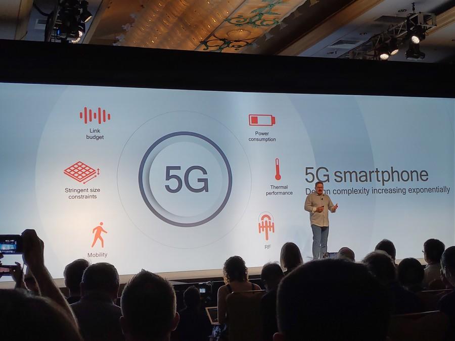 可用5G网络和高通原型机现身
