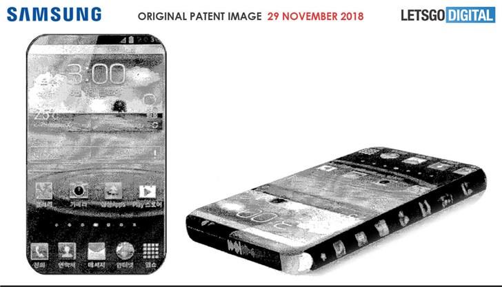 真·全面屏:三星无边框显现屏专利曝光