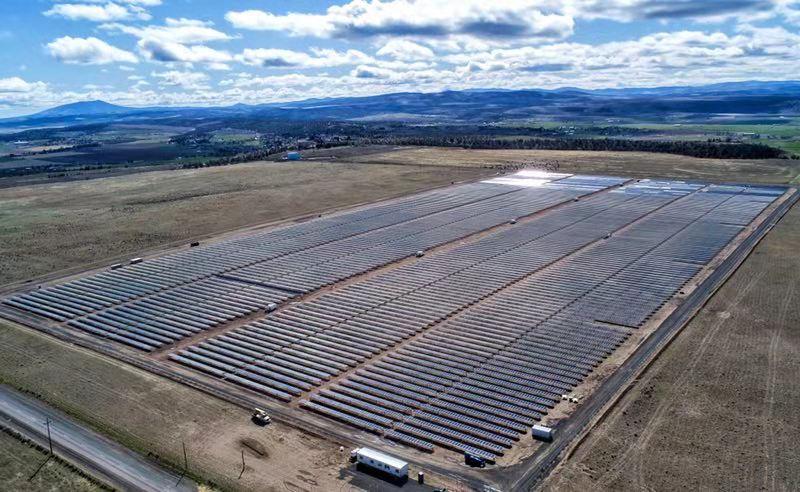 协鑫新能源北美俄勒冈州50.2MW项目全容并网