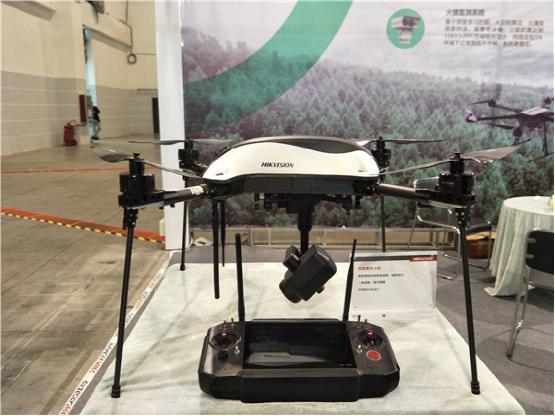 与海康威视行业级无人机一同步入森林消防装备展,畅谈科学防火新主张