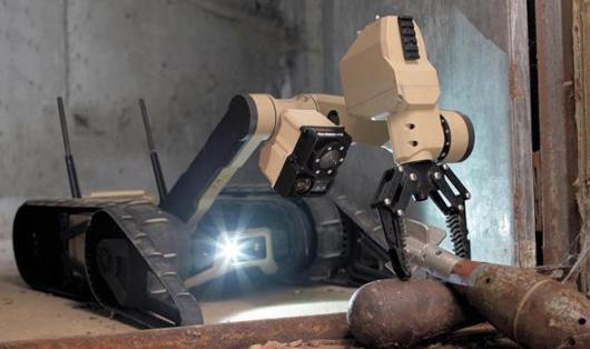 Scorpion机器人的设计明细及图片曝光 定位美国军方项目