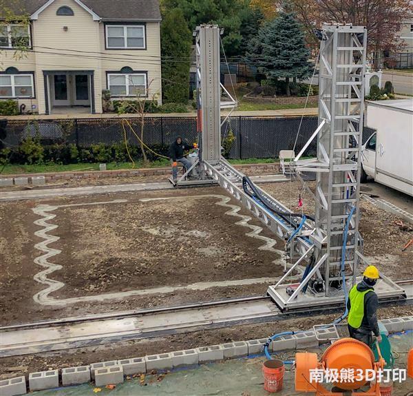 美国S-Squared建筑3D打印机,号称1000美金一套房住100年