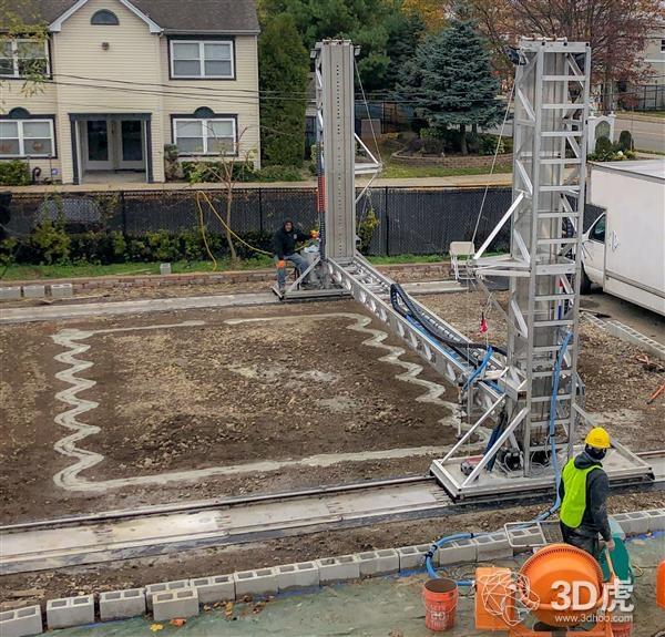 S-Squared 3D打印机推出正在申请专利的自主机器人施工系统