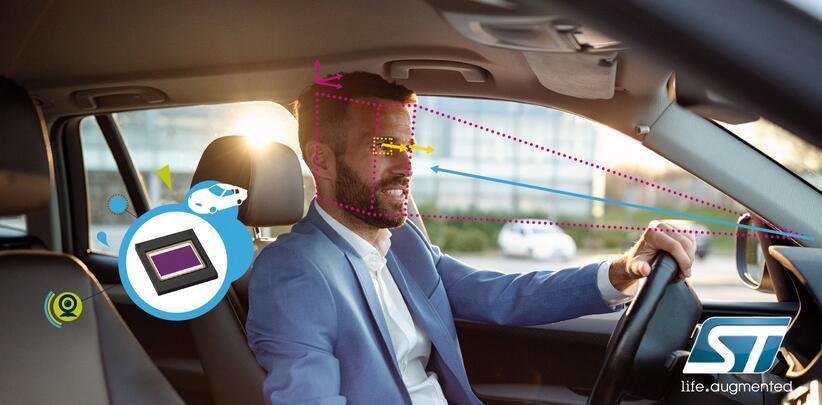 强化驾驶员监测系统 ST推出全局快门图像传感器VG5661和VG5761