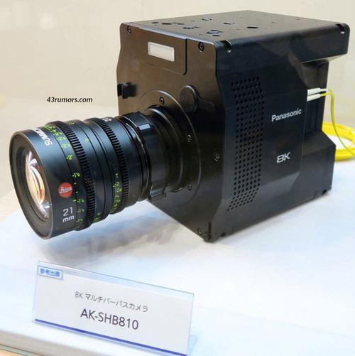 与富士合作有机感光元件 松下革命性8K摄录机挑战索尼王者地位?