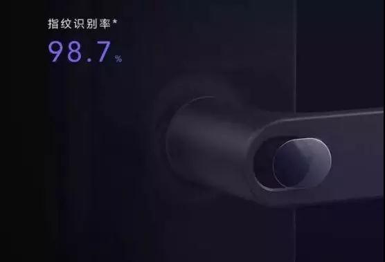 官宣:小米米家智能门锁,贝特莱独家提供指纹传感器和算法芯片!