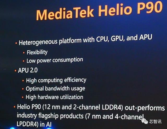 AI跑分排名第一!联发科Helio P90凭什么击败麒麟980、骁龙855?