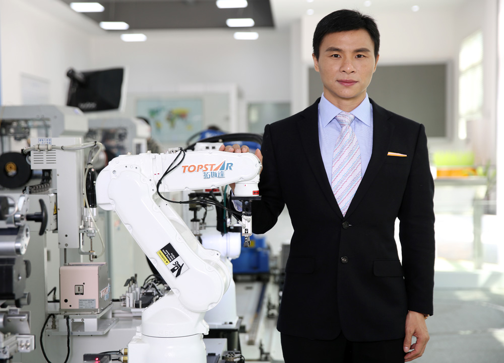 2018 年机器人行业十大风云人物-黑科技