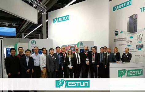 埃斯顿自动化欧洲子公司亮相德国纽伦堡国际电气自动化展