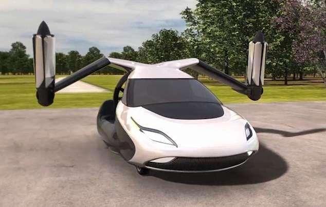 吉利集团子公司研发全球首款飞行车将于明年上市