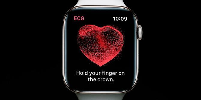 被Apple Watch的心电图玩坏了
