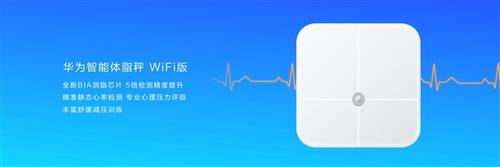 华为智能体脂秤WiFi版亮相 仅售199元