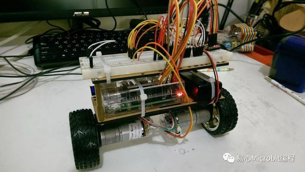 自制Raspberry Pi 两轮自平衡车