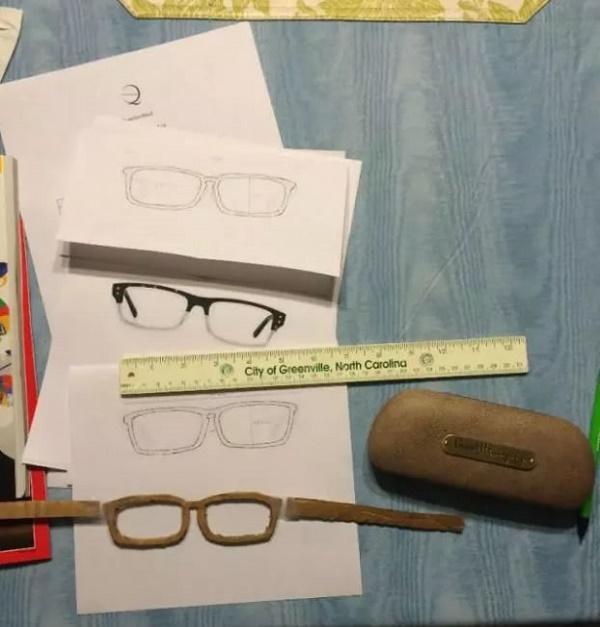 3D打印机专属定制眼镜框