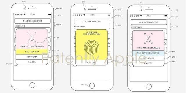 iPhone将来或同时提供人脸和指纹识别功能
