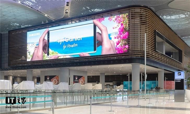 三星在伊斯坦布尔安装世界最大显示器:2.5个篮球场大小