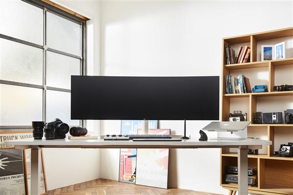 LG新发32:9超宽带鱼屏显示器:准5K