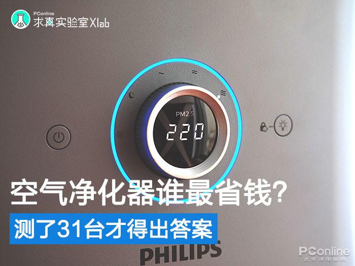 空气净化器用3年谁最省钱?测了31台才得出答案