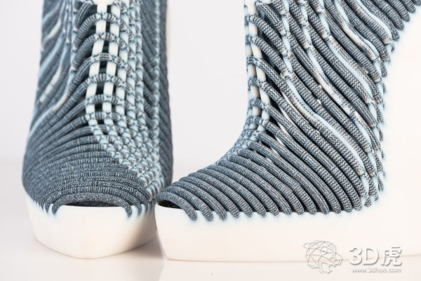 设计师Ganit Goldstein推出3D打印编织鞋