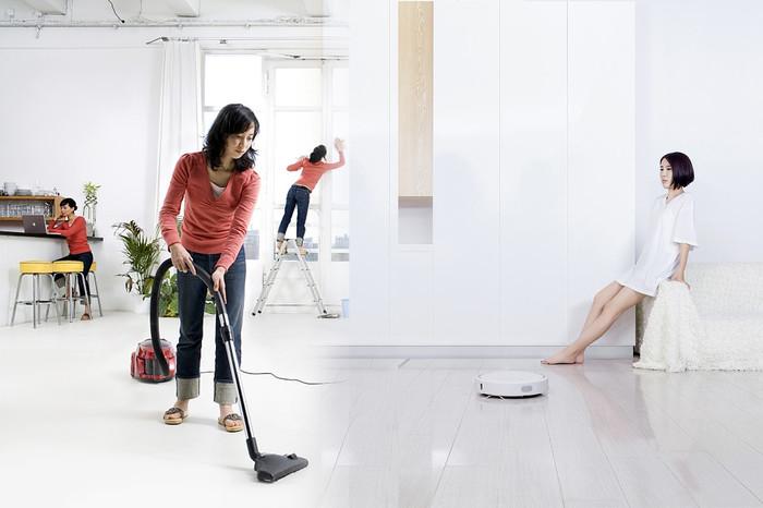 智能扫地机器人和吸尘器二选一!几招让你放心选