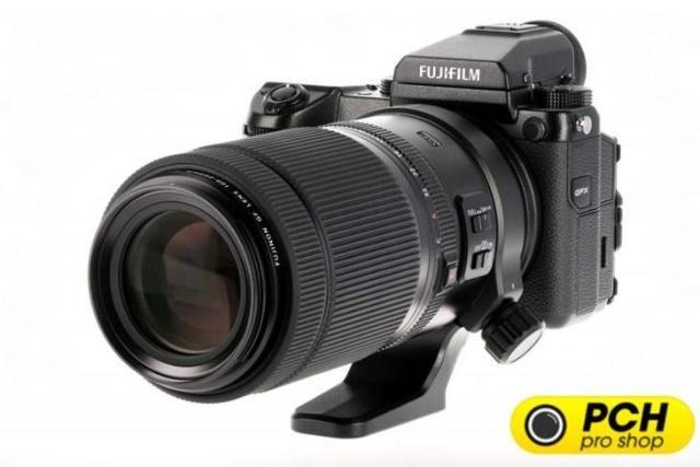 光学质量很稳定 富士100-200mm f/5.6镜头外观图曝光
