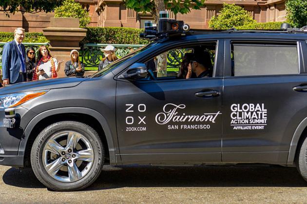 美国加州批准Zoox为首个可载客无人驾驶服务商