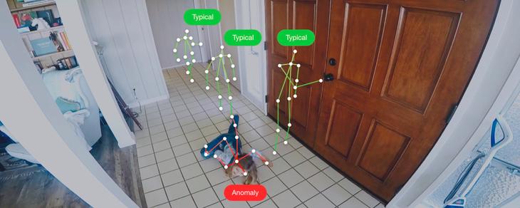 基于AI的家庭安全系统:可预防老年人跌倒