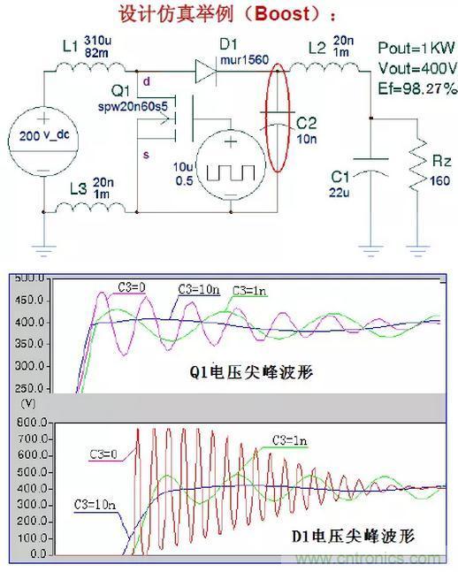 开关电源中的全部缓冲吸收电路解析