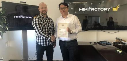 芬兰PEEK 3D打印品牌MiniFactory2019年亮相中国