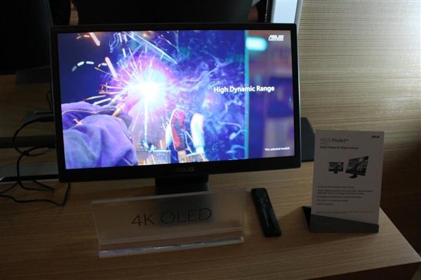 OLED走向PC显示器:日本JOLED宣布21.6寸4K新面板