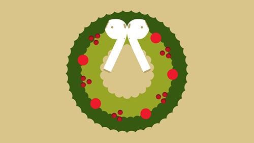 "AirPods销量飙升 "" Christmas AirPods""成流行话题"