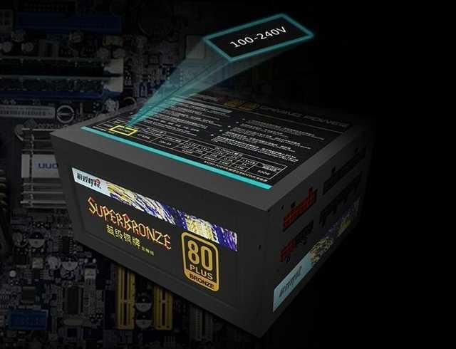 额定600W全模组设计 游戏悍将AK600电源简评