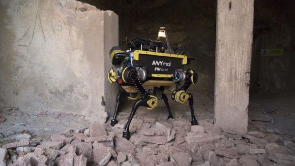 进行危险工作!瑞典四足机器人完成测试