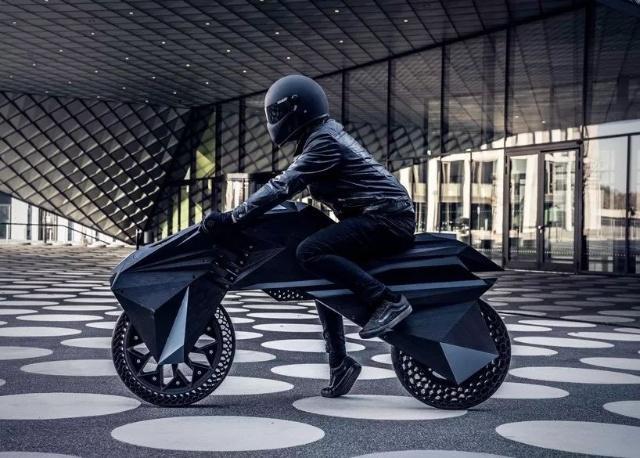 世界首辆3D打印摩托车问世