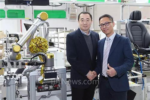 优傲机器人与北汽李尔强强联手 助力提升自动化生产