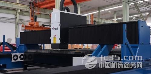 亚威落地龙门式激光切割机出口越南