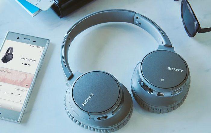 索尼WH-CH700N头戴式无线耳机新品 配备AI降噪技术