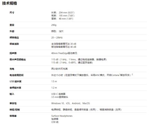 微软Surface Headphones无线耳机国行官网上线 售价为2688元