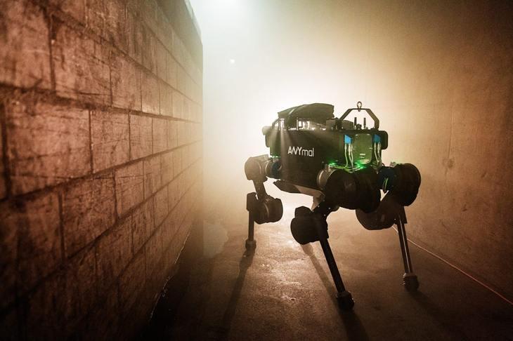 瑞士发明ANYmal四足机器人 可检查下水道等区域